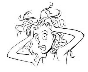 Femme stressée