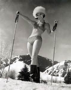 Pin up au ski