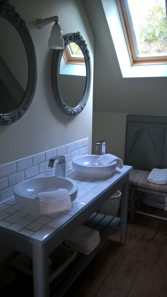 Salle de bain Le Manoir de la prise de Tarot