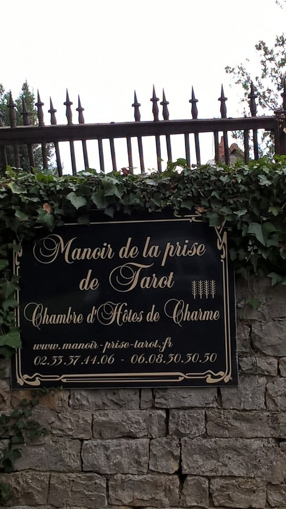 Le Manoir de la prise de Tarot