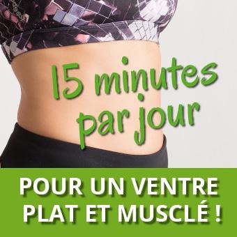 BVF-15 minutes pour un ventre plat et musclé