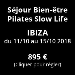 BVF - Pilates Slow Life du 11 au 15 Octobre 2018