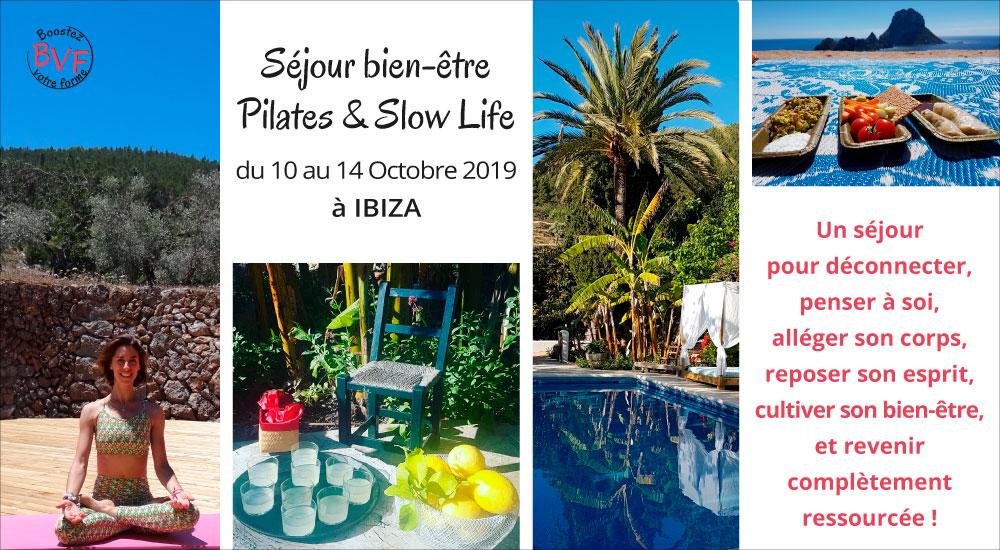 BVF- Pilates & Slow Life- du 10 au 14 Octobre 2019